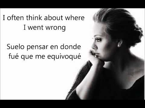 Adele- Don't You Remember Subtitulos En Ingles Y Español