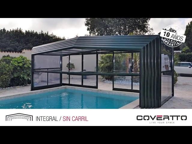 COVERTTO. Tarraco - Cubierta telescópica sin carril