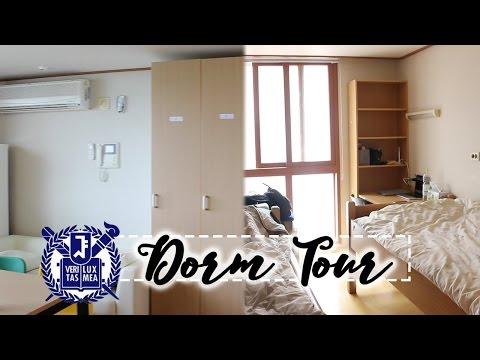 Seoul National University 919A Korean Dorm Tour! (서울대학교 관악학생생활관)
