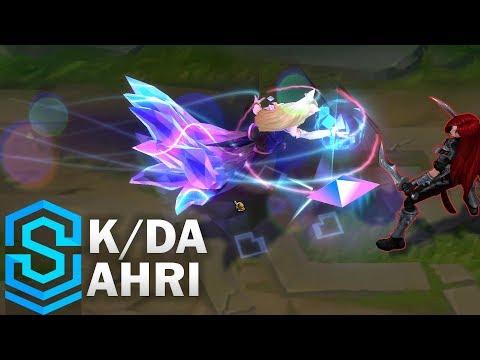 K/DA Ahri Skin Spotlight - League of Legends