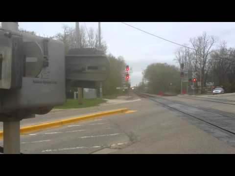 Metra MP36-3S 415 pushes inbound train number 116 through Ram on 4/26/16