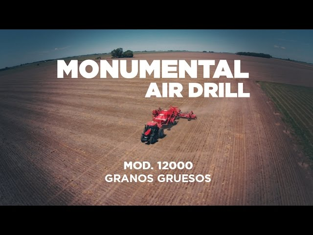 Sembradora Monumental Air Drill Granos Gruesos, zona General Baldisera (Cordoba). TRACTOR CASE.