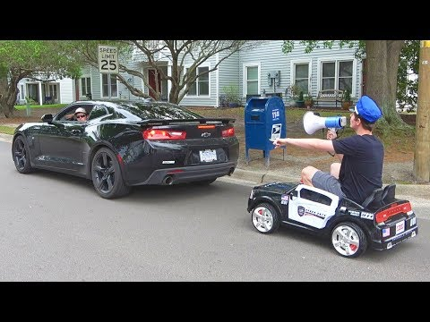 Pulling Cars Over Using A Toy Police Car Latest Funny Videos