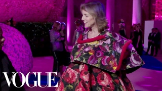 Caroline Kennedy Shows Off Her Comme des Garcons Gown | Met Gala 2017