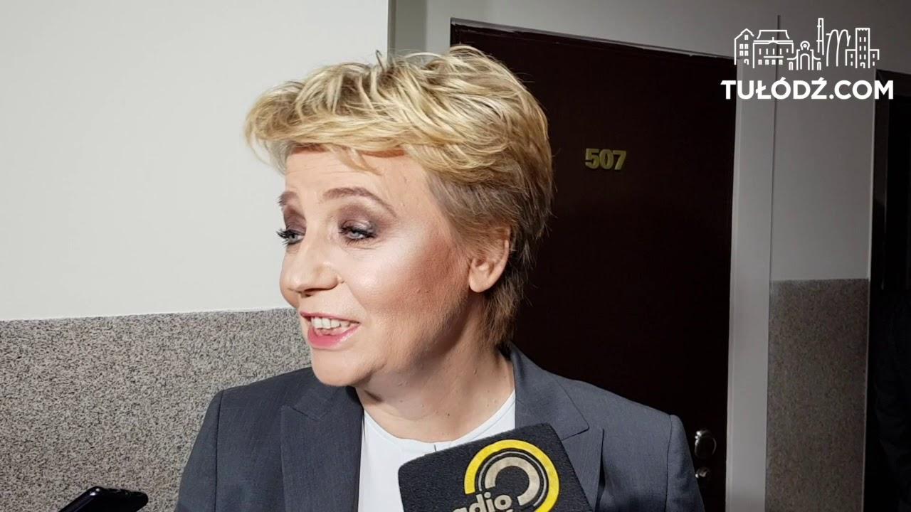 Hanna Zdanowska w trakcie rozprawy sądowej. Mamy jej komentarz! [WIDEO]