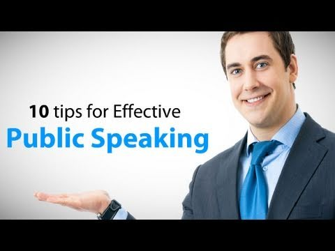 do and donts in public speaking