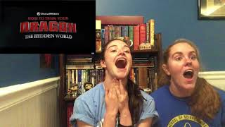How to Train Your Dragon 3 trailer LIVE REACTION