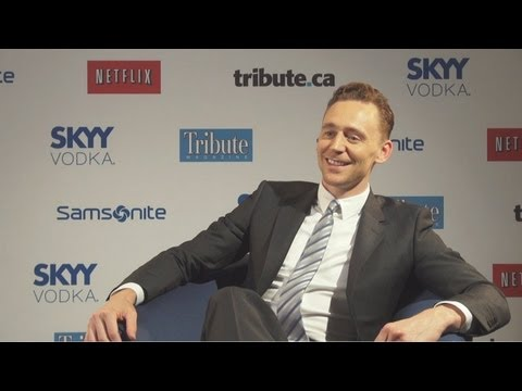 Tom Hiddleston - Only Lovers Left Alive Interview at TIFF 2013 HD