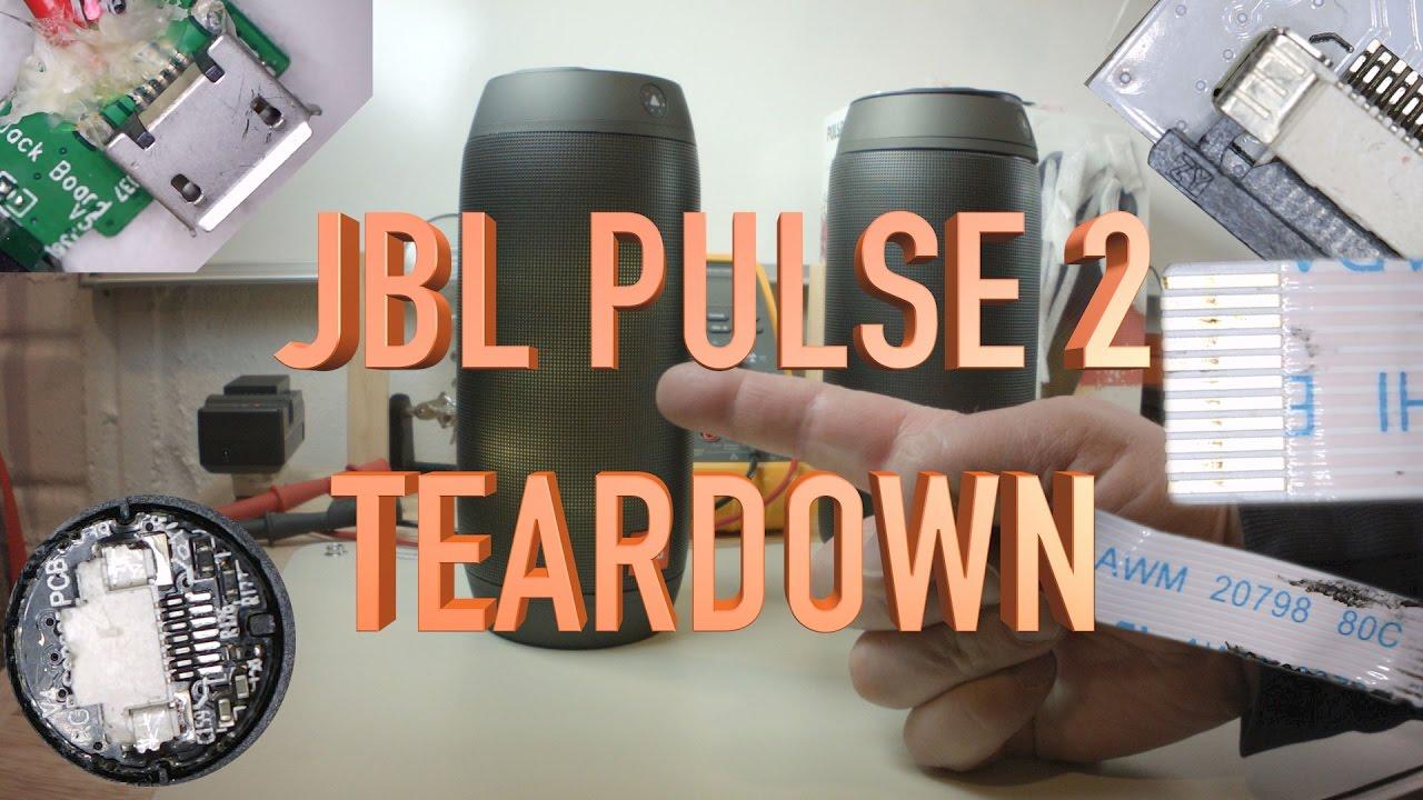 Jbl Pulse 2 Repair And Teardown Advice Youtube