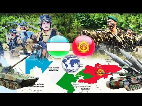 Uzbekistan VS Kyrgyzstan Military Power Comparison 2017