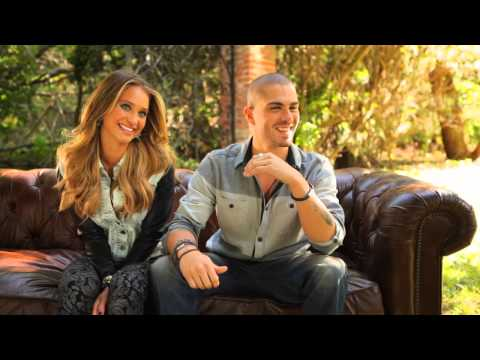 On Set with Max George and Hannah Davis