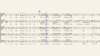 Can't Help Falling In Love - Pentatonix [FULL SHEET MUSIC] w/ Lyrics