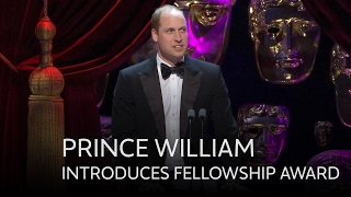 Prince William introduces the Fellowship BAFTA - The British Academy Film Awards 2017 - BBC One