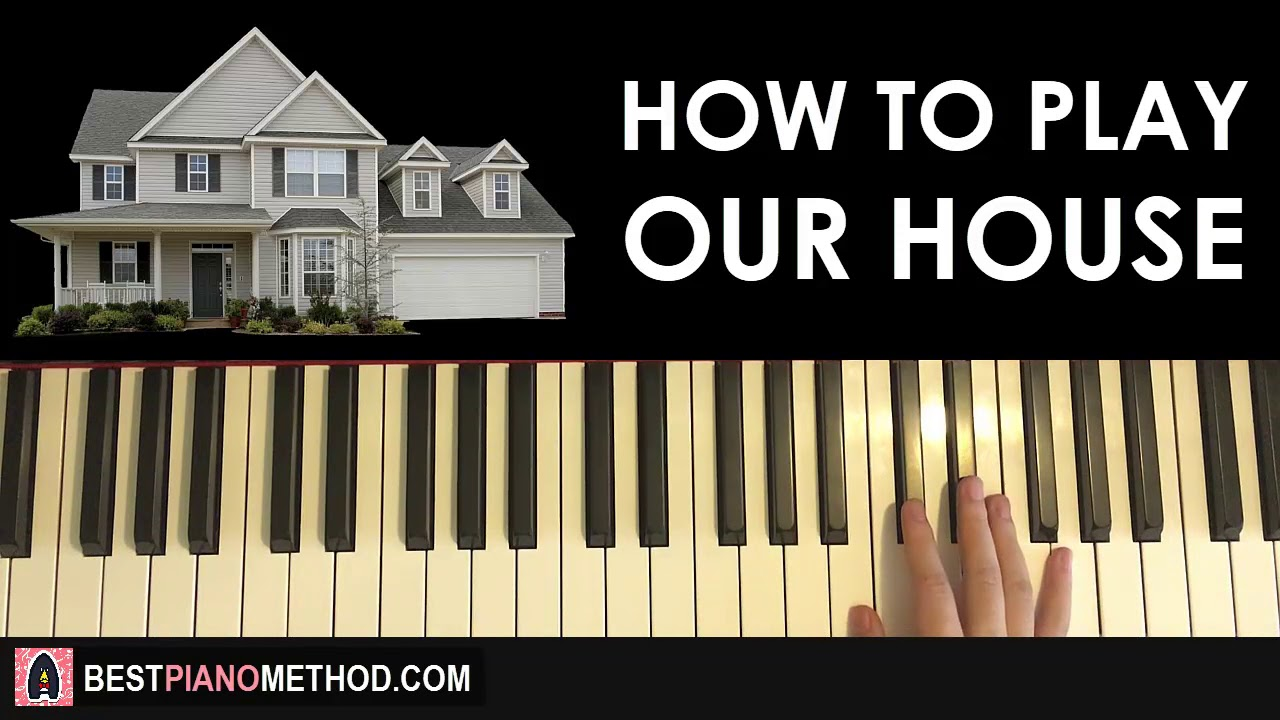 HOW TO PLAY - Madness - Our House (Piano Tutorial Lesson)