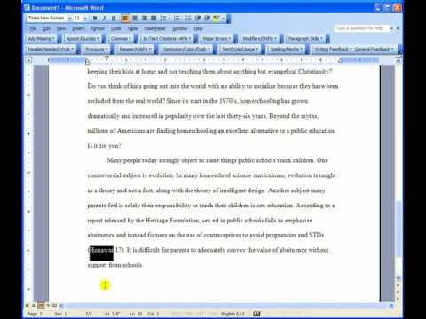MLA Citation Format, Part 2 Put Your Papers  Essays in Perfect MLA - how to write a mla citation