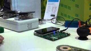 Smart wireless charging with NFC (and Qi) - NXP at MWC 2014