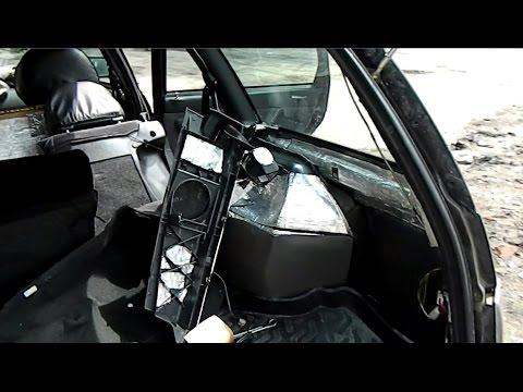 Бюджетная шумоизоляция багажника ваз