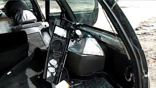 видео Шумоизоляция багажника ВАЗ 2110,2111,2112