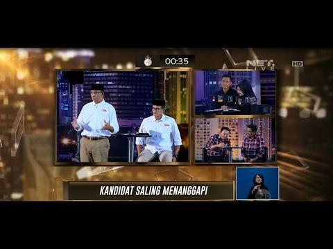 Debat 1 Pilkada DKI Jakarta 2017 - Normalisasi Sungai & Penggusuran Permukiman Warga