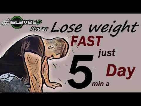 How to lose weight fast just by 5 minutes a Day one exercise and secret