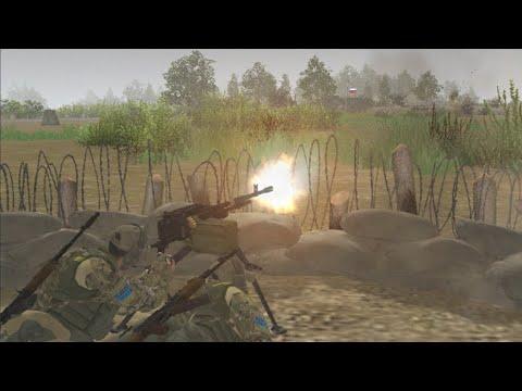 Russia Invades Ukraine (Men of War-Assault Squad 2 Editor Battle)  