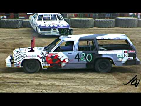 Group B Cars Getting Physical Demolition Derby Youtube