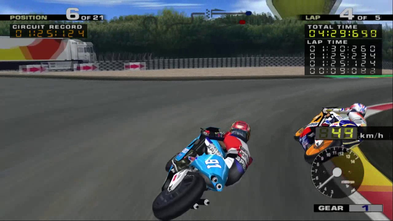 MotoGP 1 PS2 | Paul Ricard | Honda NSR500 | Kanemoto Honda - YouTube