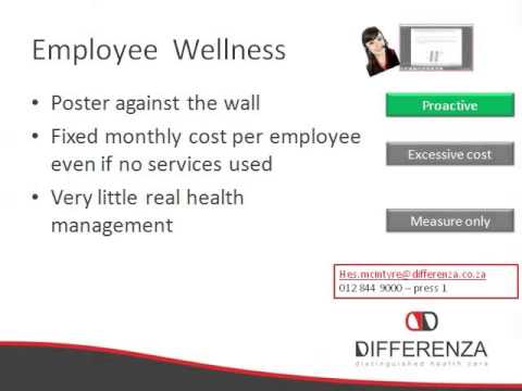 Employee Health Support and Management... Different...Better... And more cost effective!