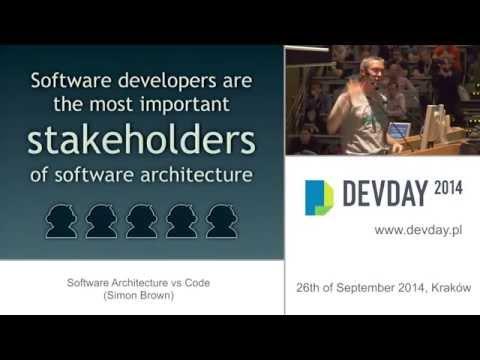 Simon Brown - Software Architecture vs Code