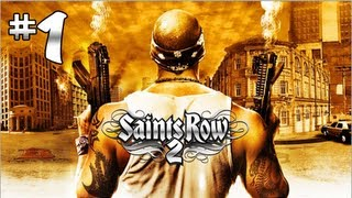 "Saints Row 2 - Gameplay Walkthrough (Part 1) ""Jailbreak"""