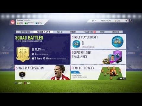 FIFA 18 FUT - Squad Battles 4 - Spaghetti Western (5-2-2-1) World Class... 1-0