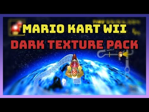 Mario Kart Wii Dark/Night Texture Pack!