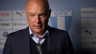 Uwe Rösler efter segern mot Hammarby IF