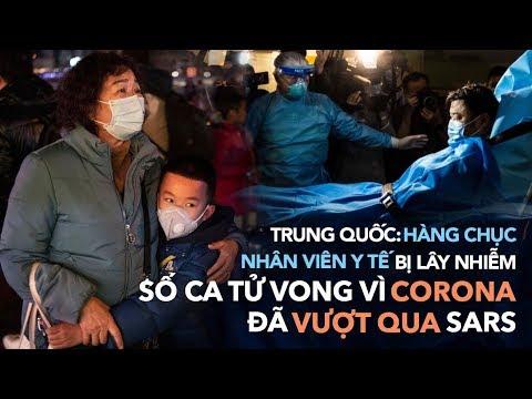 Trung Quốc 08/02: hàng chục nhân viên y tế bị lây nhiễm nCoV, số ca tử vong vì CORONA đã vượt SARS