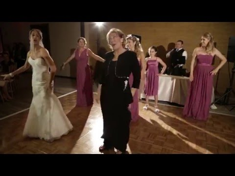 Uptown Funk Wedding Dance