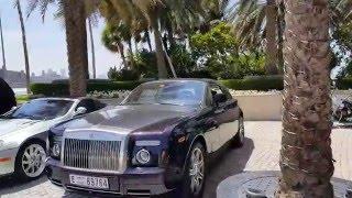 Toys for Big Boys : Mercedes Maybach & Rolls Royce at Burj Al Arab Dubai