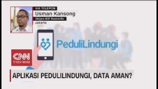 Aplikasi PeduliLindungi, Data Aman? screenshot 2