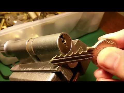 Взлом отмычками RUKO   (151) Lock Picking - Ruko 5-Pin Oval SPP