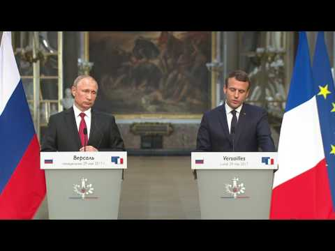 Joint press conference with President of France Emmanuel Mac