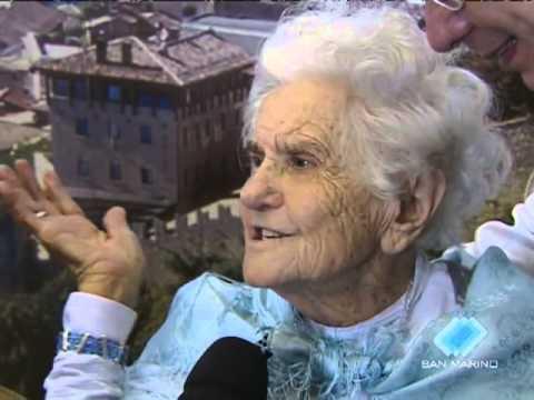Oma Ella 100. Geburtstag in San Marino 2010