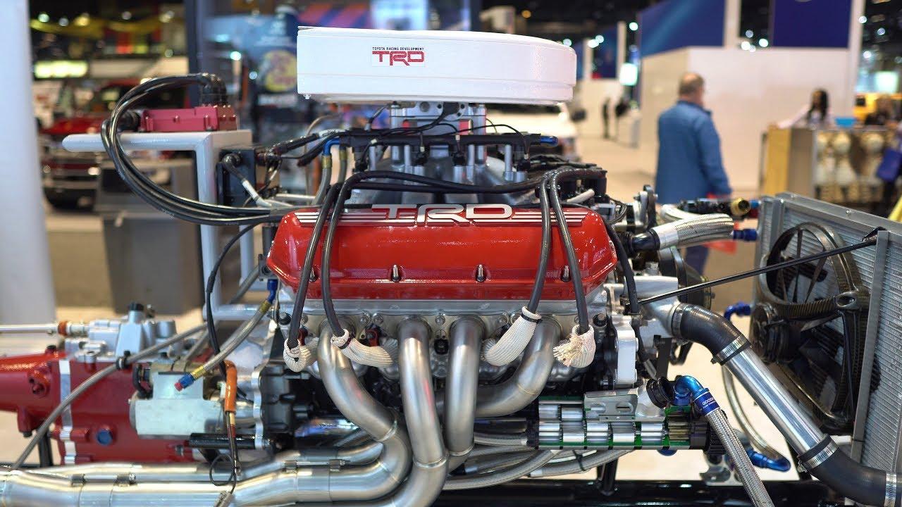 Nascar Engine Specs >> Anatomy Of A Toyota Supra Trd Nascar 5 8l V8 Engine Transmission And Drivetrain Cutaway Creations 4k