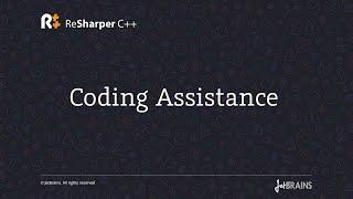 Coding Assistance in ReSharper C++