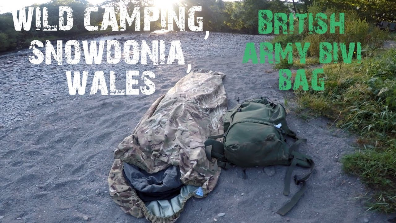 Two nights wild camping in snowdonia, Wales, UK, night two ...