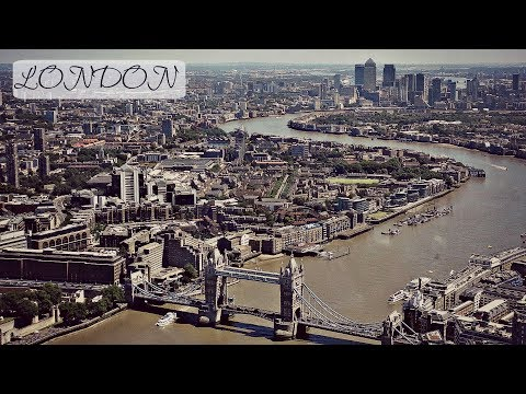 LONDON TRAVEL VLOG I THE VIEW FROM THE SHARD I 4K