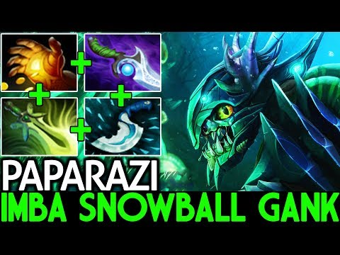 Paparazi [Slark] Imba Monster Snowball Gank Carry Game 7.21 Dota 2 thumbnail