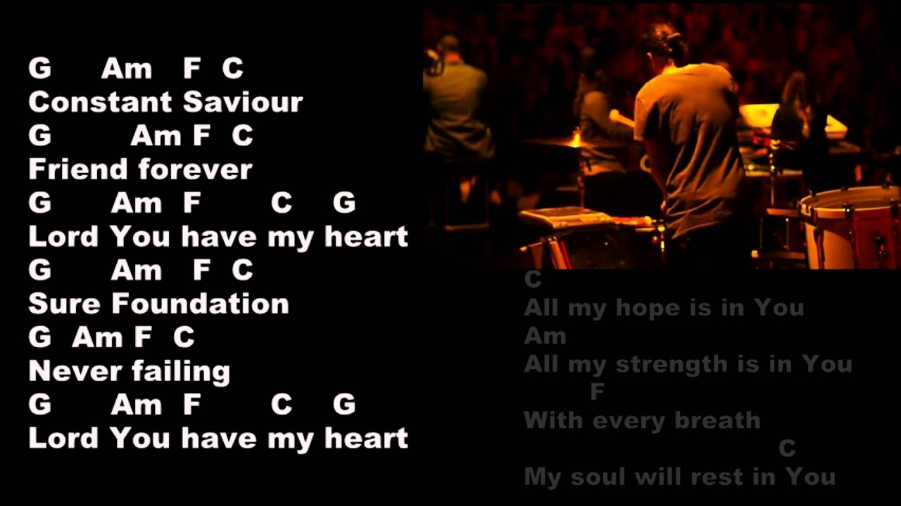 Hillsong all my hope lyrics and chords youtube hexwebz Image collections