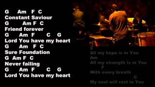 English Gospel Song .. Key Lyrics And Chord