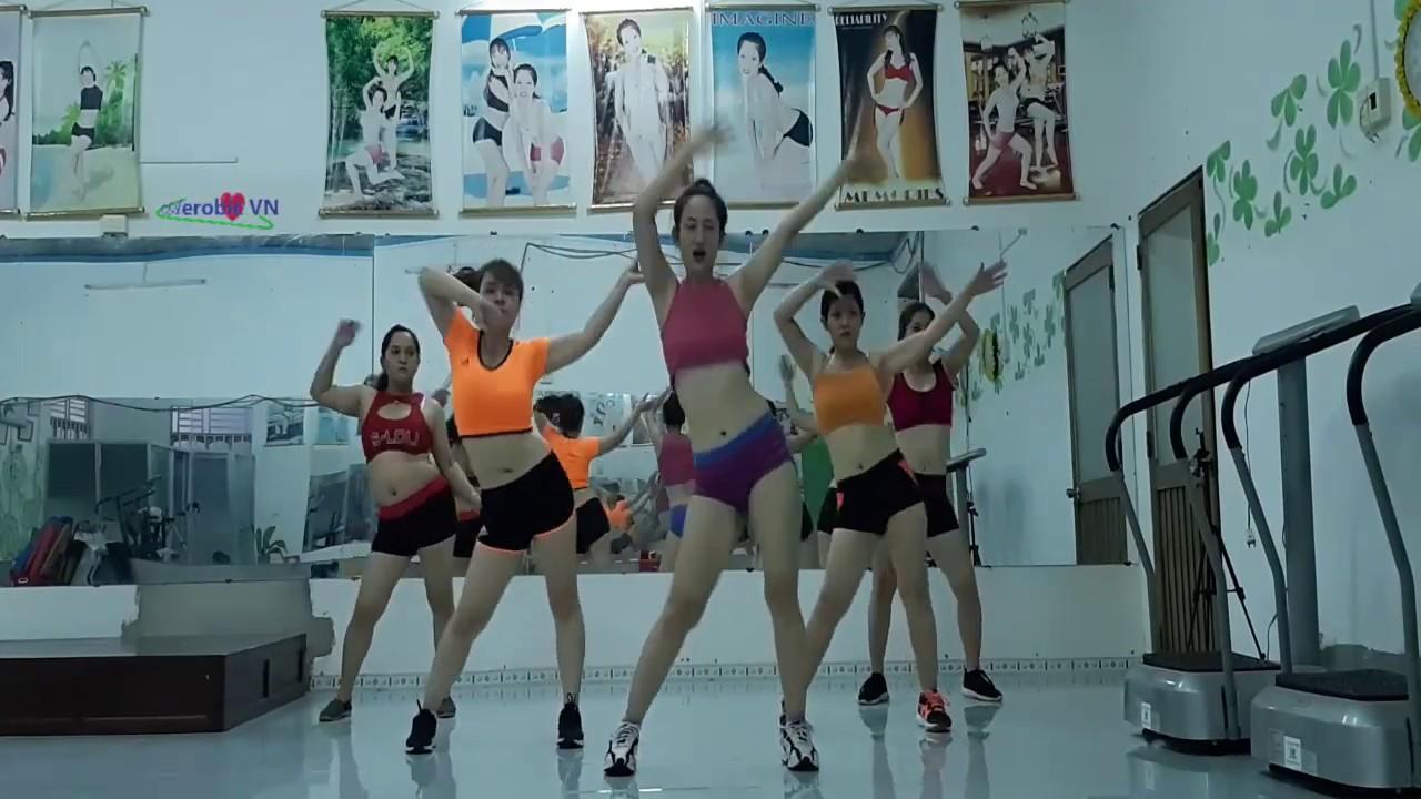 Aerobic dance burns fat fast, slim waist and burns calories every day | Aerobic VN