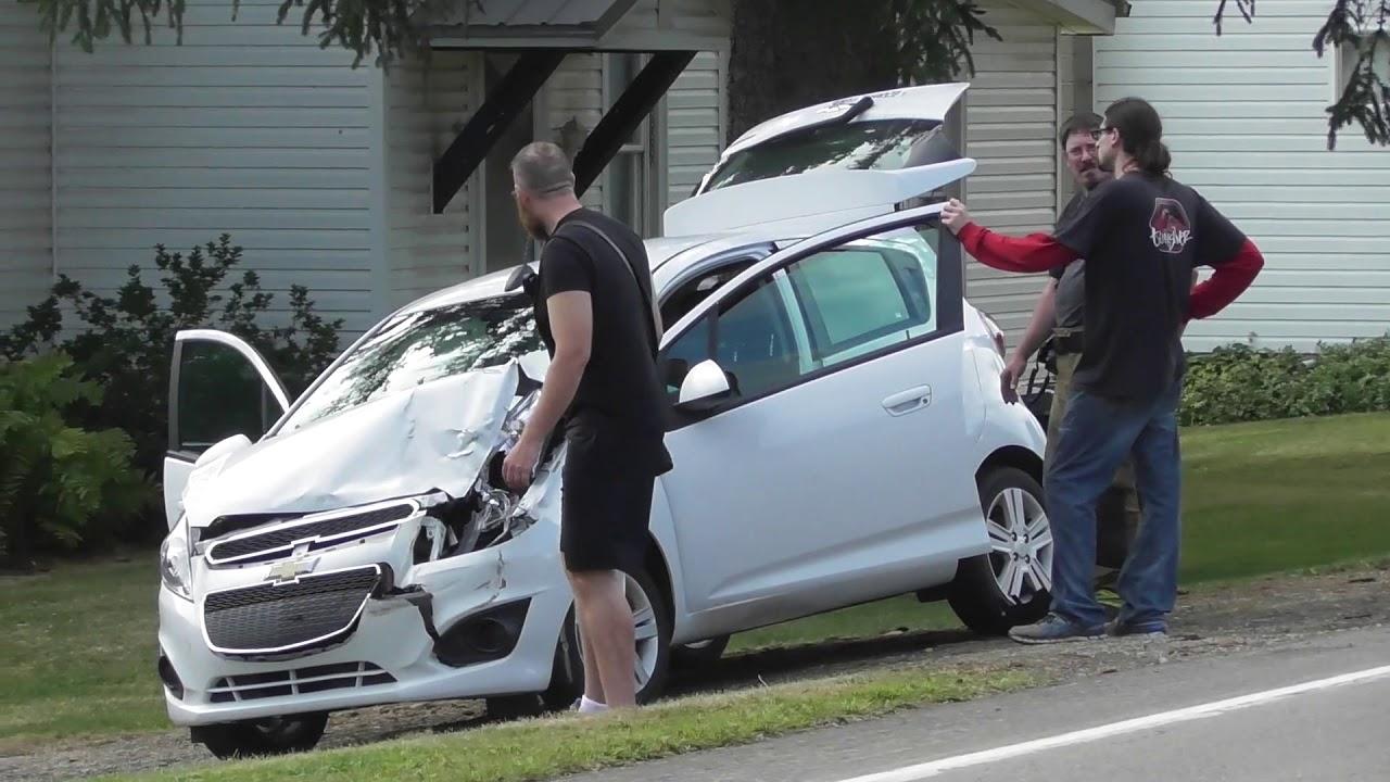 Route 208 Accident Scene