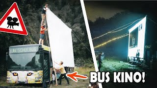 We are building a huge drive-in cinema - service bus conversion #1